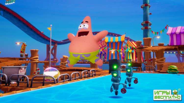 Сражения с боссами в SpongeBob SquarePants: Battle for Bikini Bottom – Rehy ...
