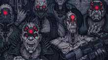 Человечность не нужна – CD Projekt Red представила группировку «Мальстрём» из Cyberpunk 2077