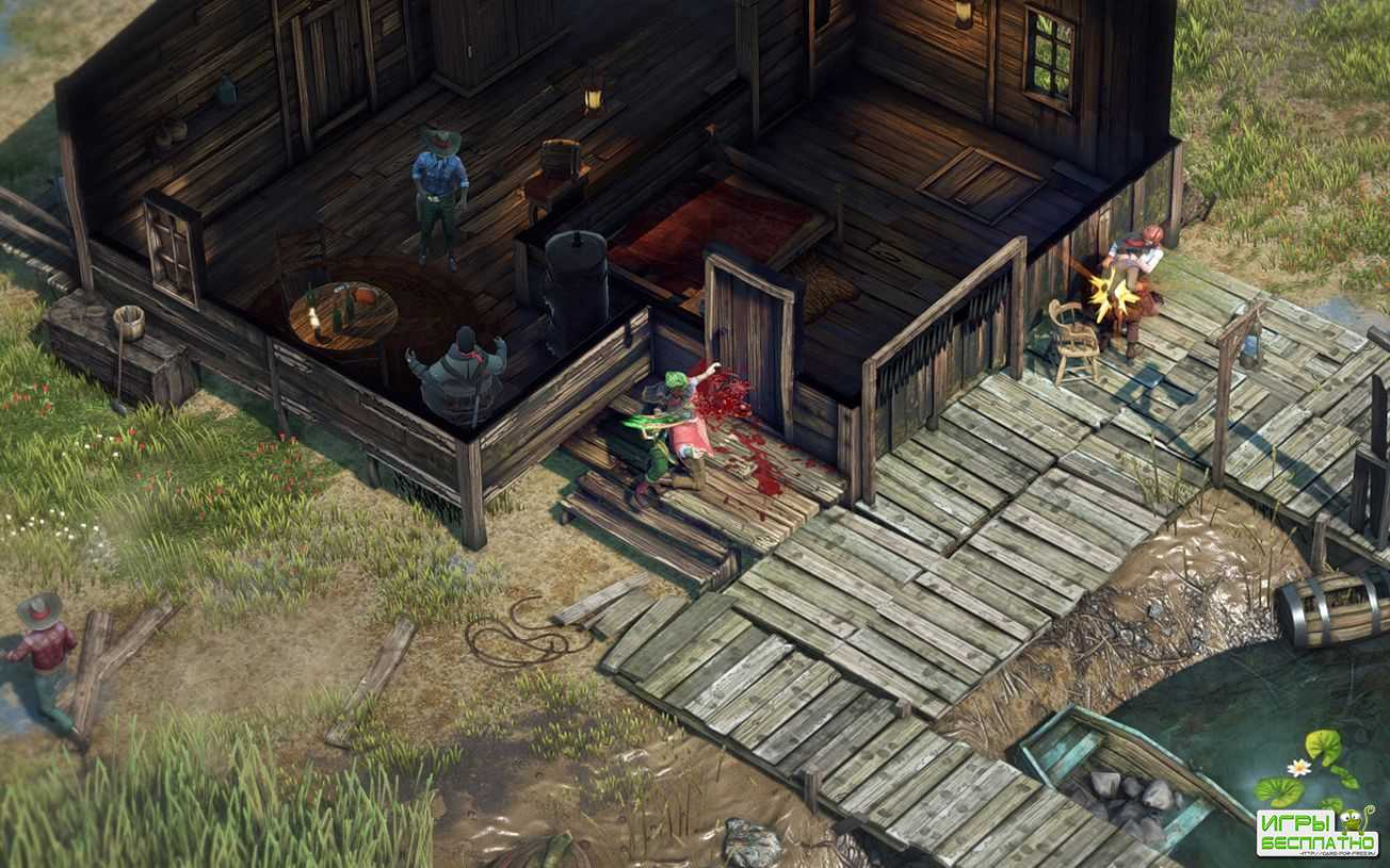 К Desperados III выпустили интерактивный трейлер