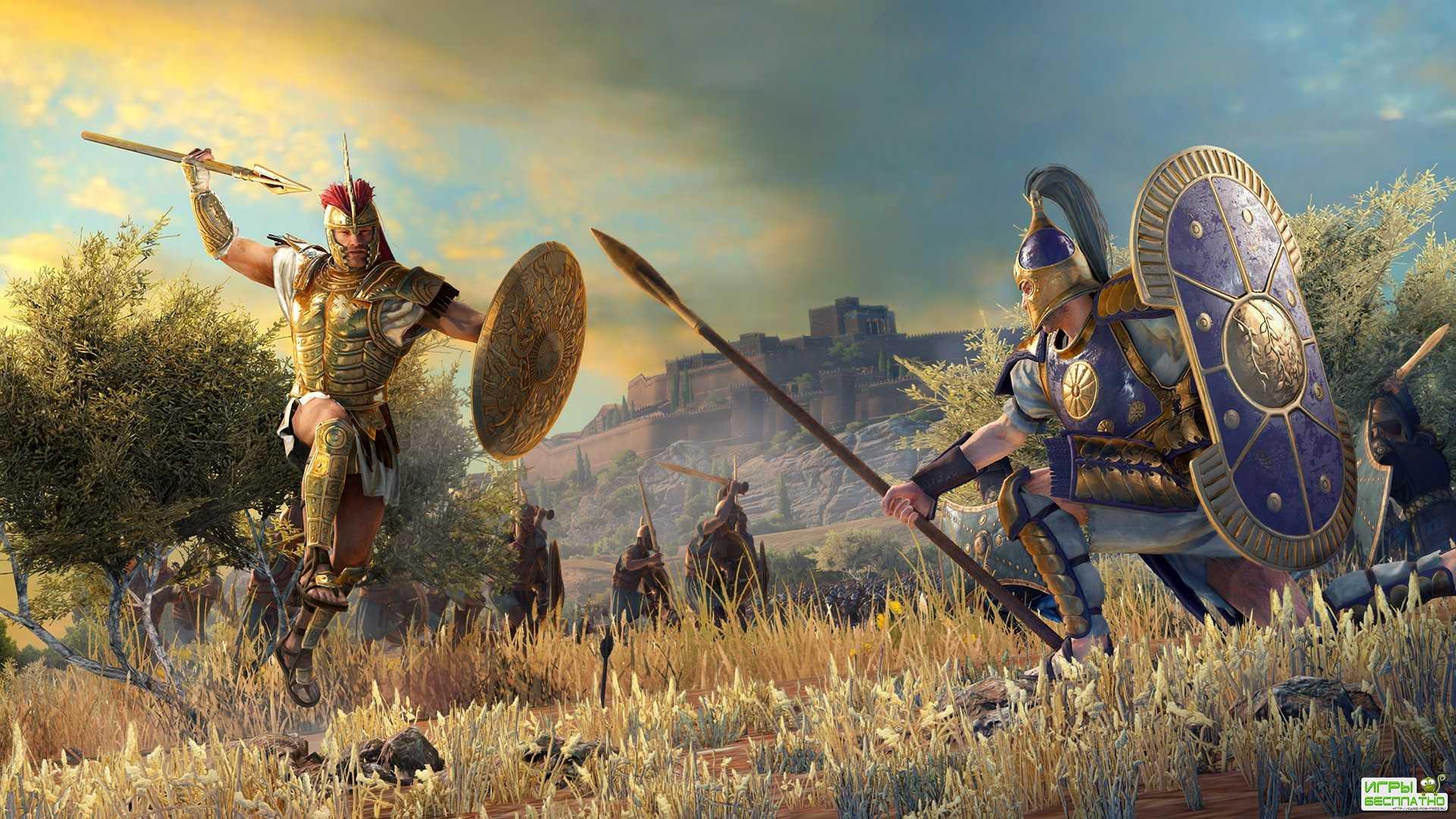 Разработчики Total War Saga: Troy выпустили первое геймплейное видео