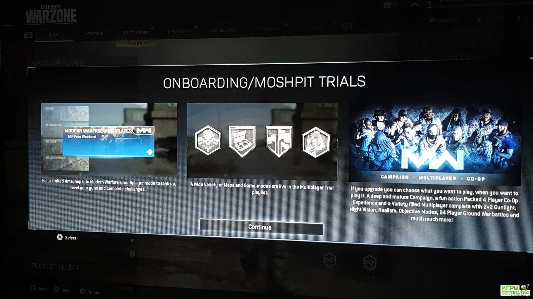 В Call of Duty: Warzone заметили режим на 200 игроков