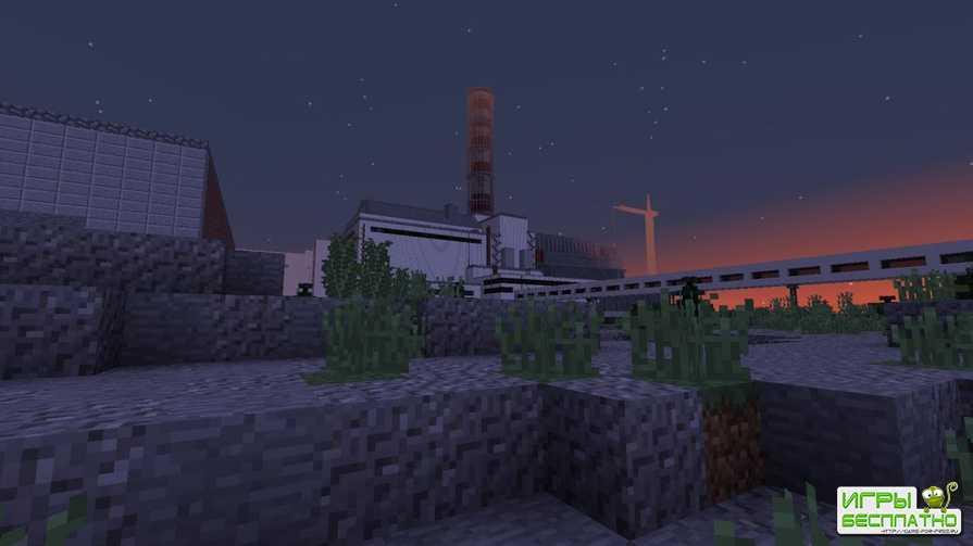 Minecraft обзавелся собственными ЧАЭС и Припятью