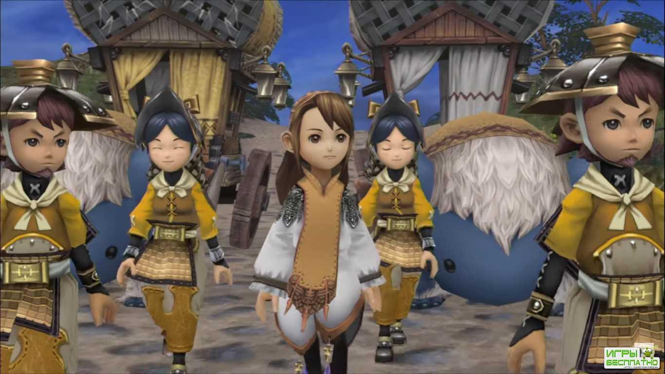 Для ремастера Final Fantasy Crystal Chronicles выпустят бесплатную версию