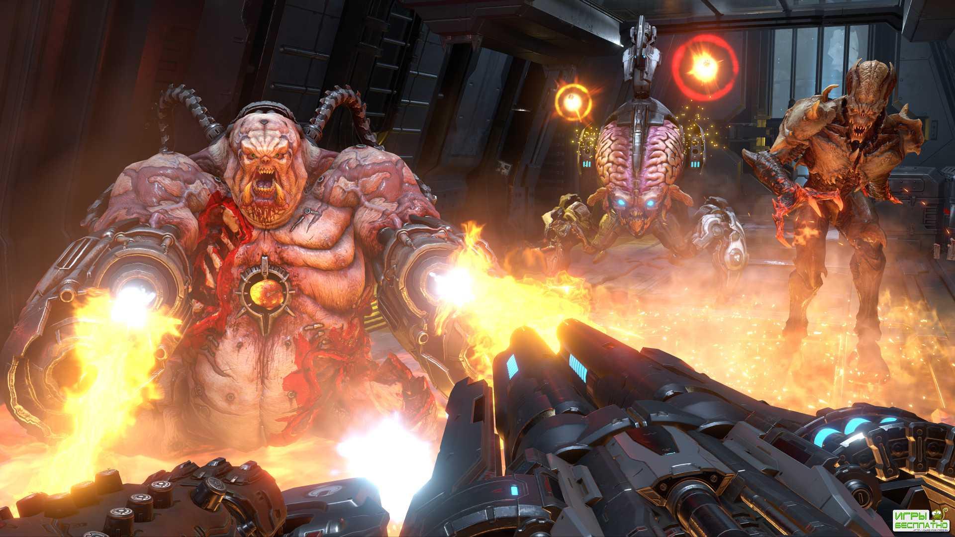 Разработчики DOOM Eternal показали тизер-трейлер сюжетного DLC