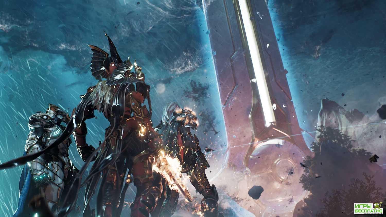 Боевая система в свежем геймплее Godfall — в игре не будет микротранзакций