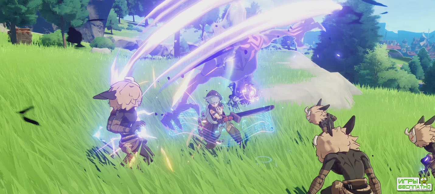 Сюжетный трейлер многопользовательской ролевой игры Genshin Impact