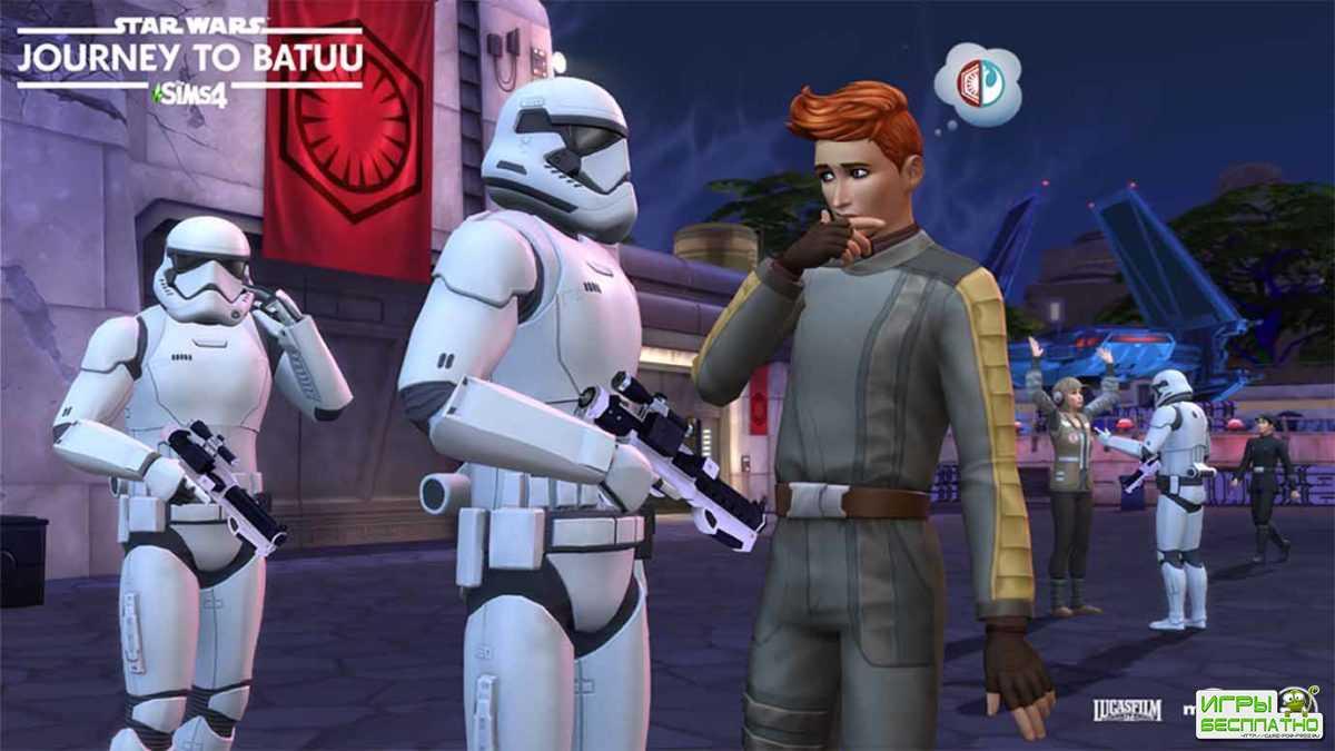 Вышел геймплейный трейлер «Sims 4: Звездные Войны»
