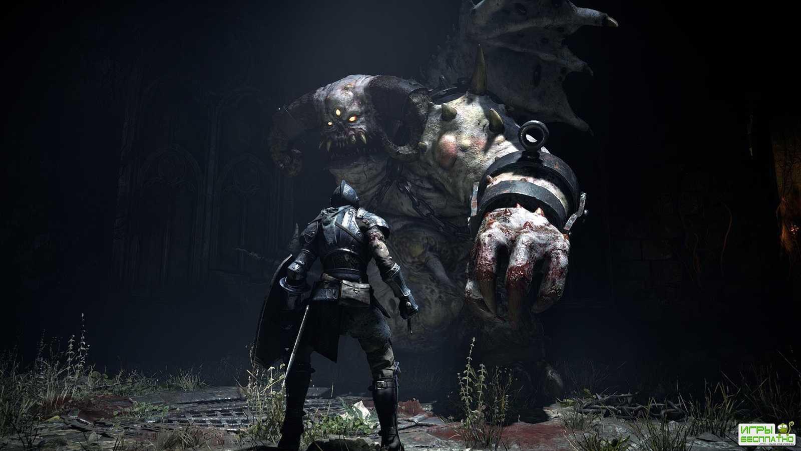 Новый геймплейный ролик ремейка Demon's Souls с презентации PS5