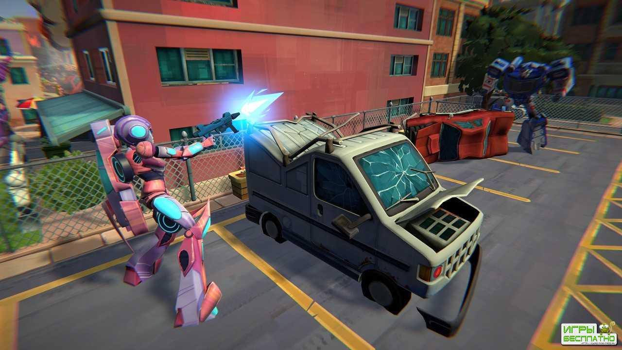 Создатели Transformers: Battlegrounds показали игровой процесс