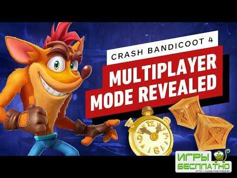 Первый показ мультиплеера Crash Bandicoot 4