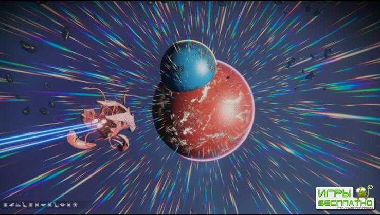 Слияние планет – удивительная находка в No Man's Sky