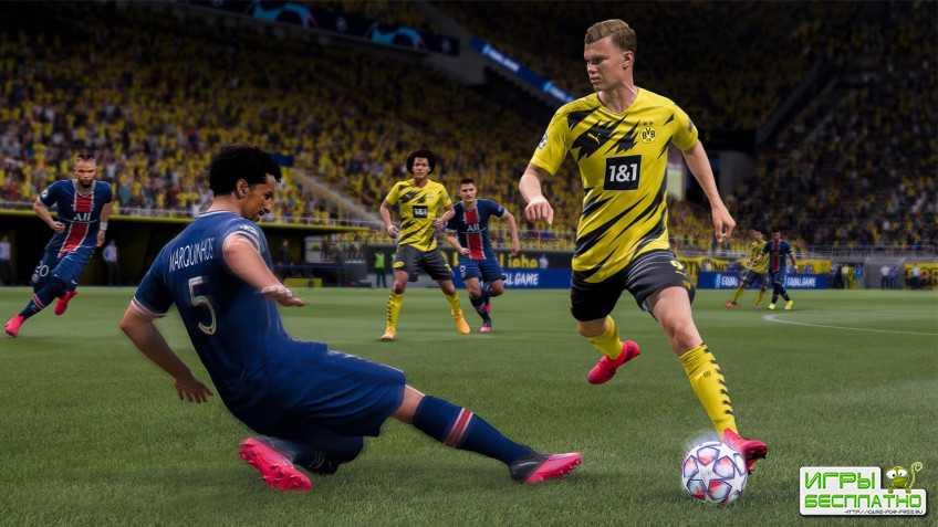 FIFA 21 стартовала на 42% хуже FIFA 20 в рознице Великобритании