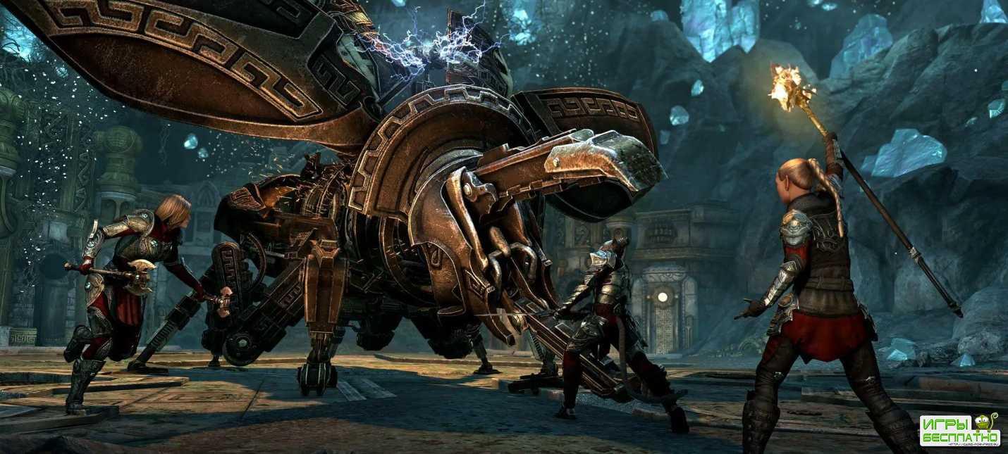 The Elder Scrolls Online: трейлер игрового процесса дополнения «Маркарт»