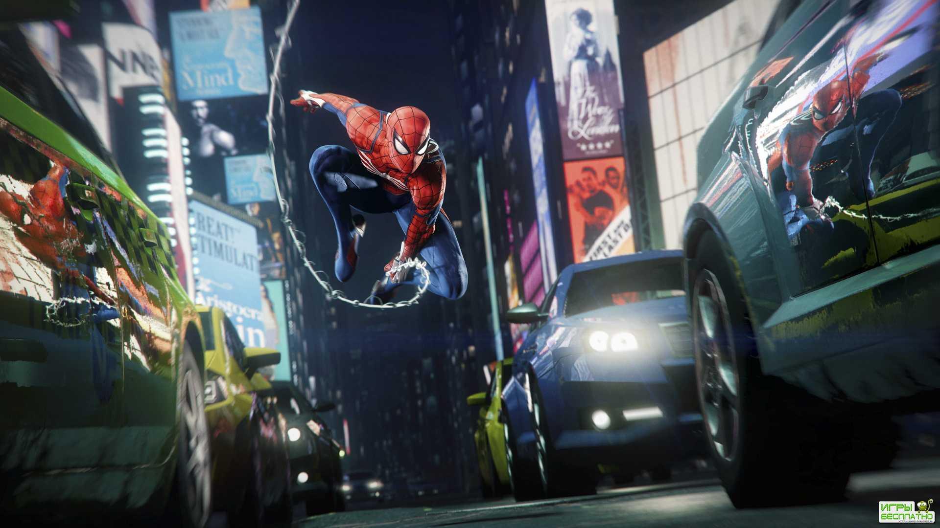 Первые 20 минут геймплея ремастера «Человека-паука» на PS5