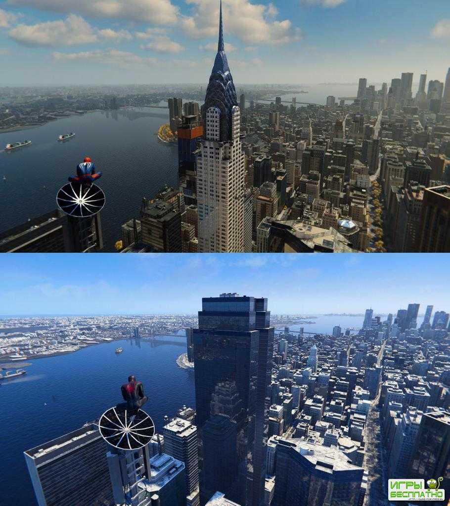 Здание Крайслер-билдинг убрали из игры Spider-Man: Miles Morales из-за авторских прав