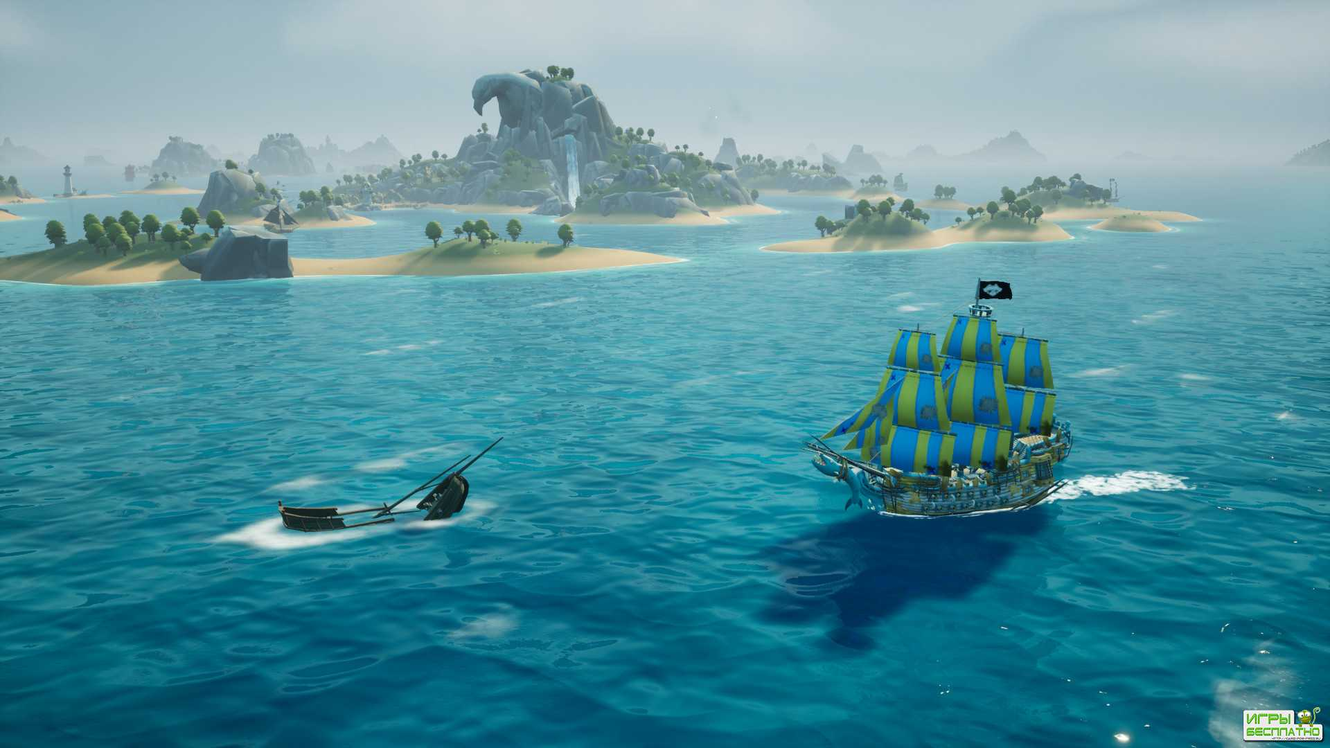 15 минут геймплея пиратского экшена King of Seas
