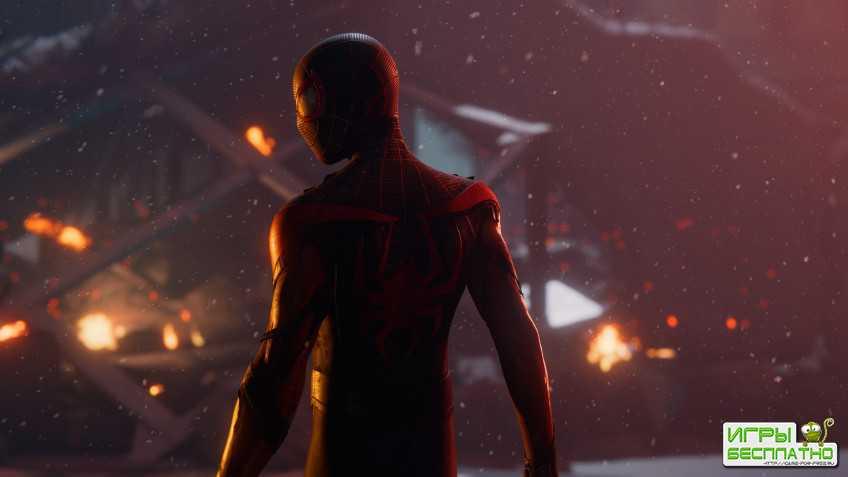В «Человека-паука: Майлз Моралес» на PS5 добавили рейтрейсинг при 60 FPS