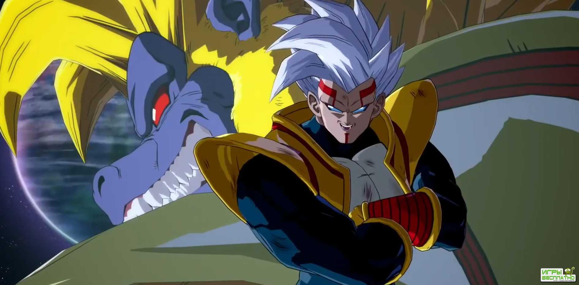 Super Baby 2 против всех и самого себя в свежем геймплее Dragon Ball FighterZ