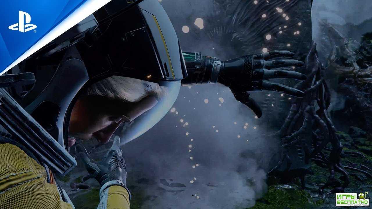 В новом ролике Returnal героиня сражается с фантастическими монстрами