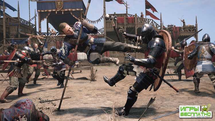 Демонстрация игрового процесса средневекового многопользовательского экшена Chivalry 2