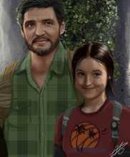 Вот так выглядят герои экранизации The Last of Us