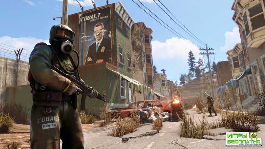 Разработчики Rust показали 24 минуты игры на PS4 Pro и Xbox One X
