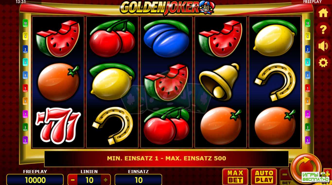 Golden Joker - крутой автомат на сайте neo-club.azurewebsites.net