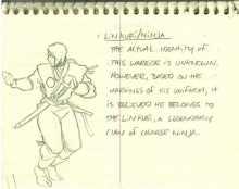 Создатель Mortal Kombat опубликовал самый первый скетч Саб‑Зиро