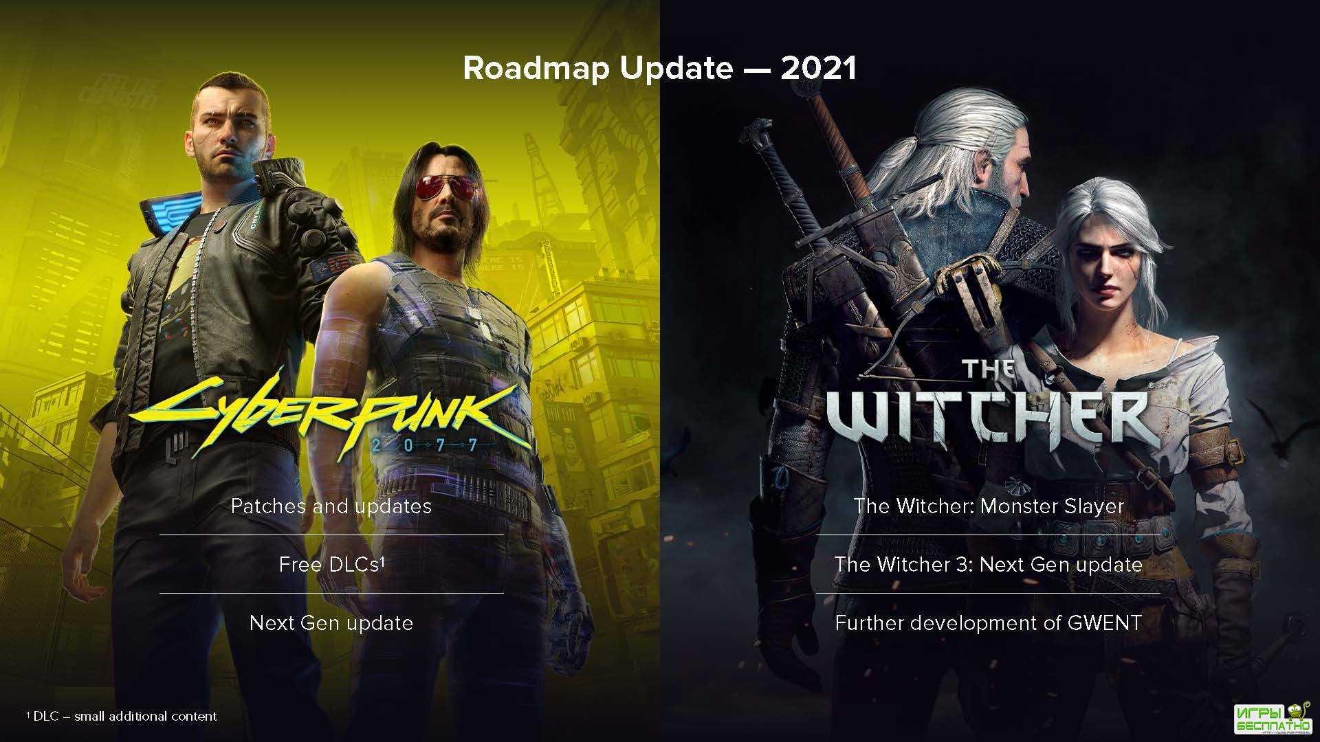 Авторы Cyberpunk 2077 и The Witcher раскрыли планы по развитию серий