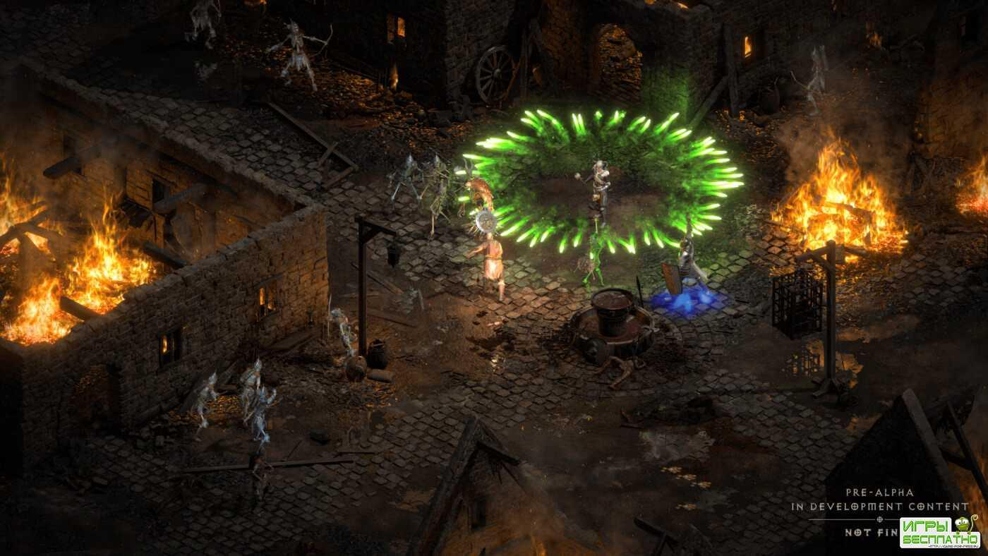Классика в новом облике: Первые 16 минут ремейка Diablo II Resurrected и свежее сравнение с оригинальной игрой