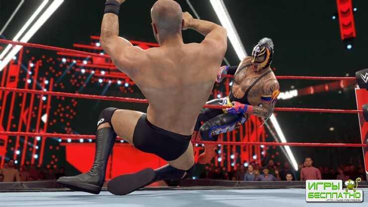 Трейлер с анонсом симулятора рестлинга WWE 2K22