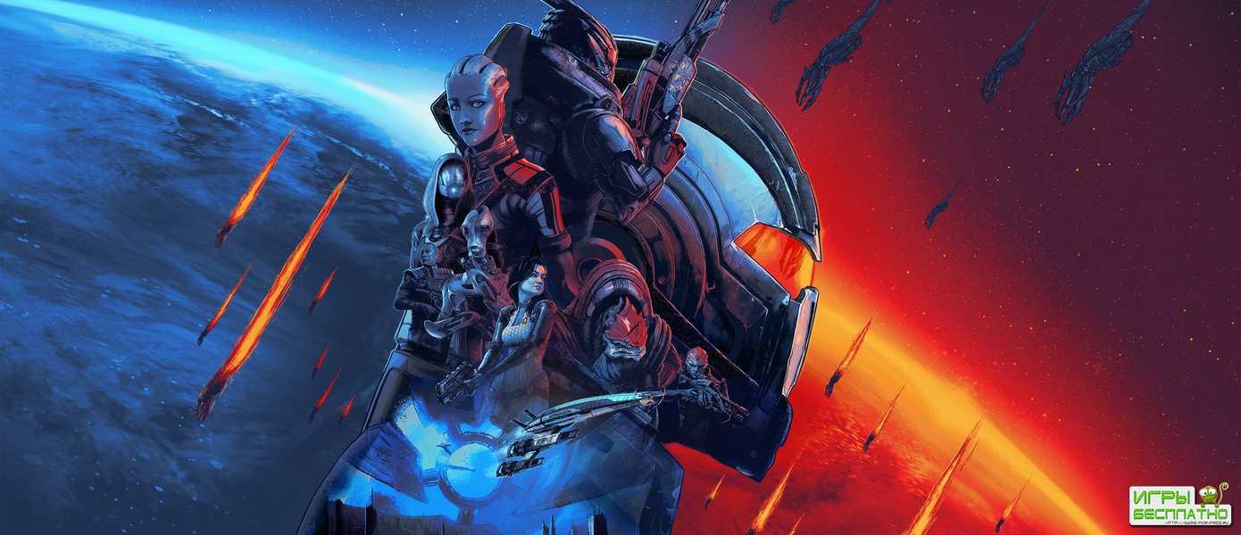 Студия BioWare показала новый трейлер Mass Effect Legendary Edition