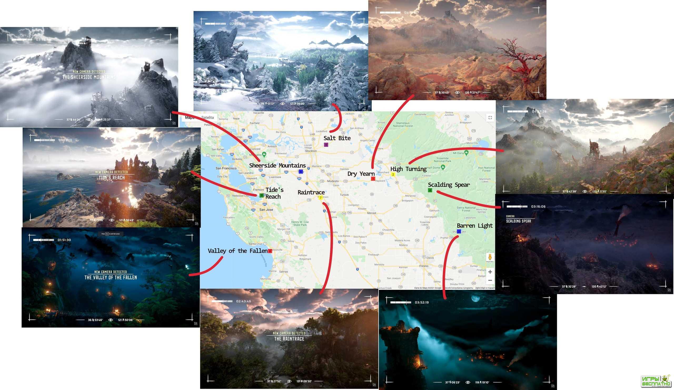 Horizon: Forbidden West будет проходить в Калифорнии