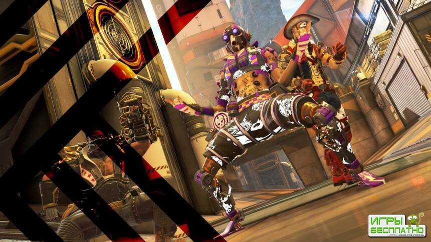 Трейлер, посвященный ивенту «Острые ощущения» в Apex Legends