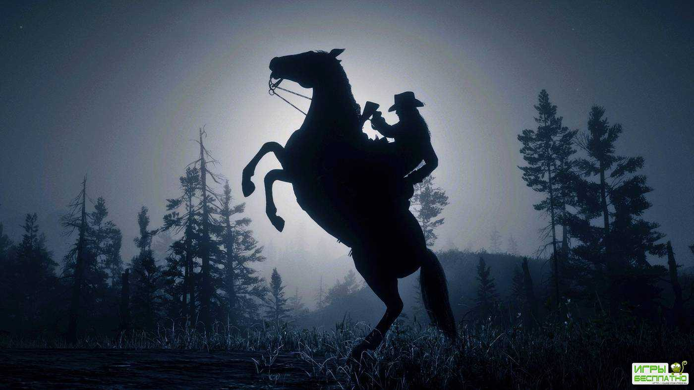 В Red Dead Online началось нашествие странных лошадей-клонов