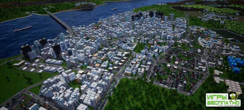 Строительство городов и вопросы экономики в первом геймплее стратегии Highrise City
