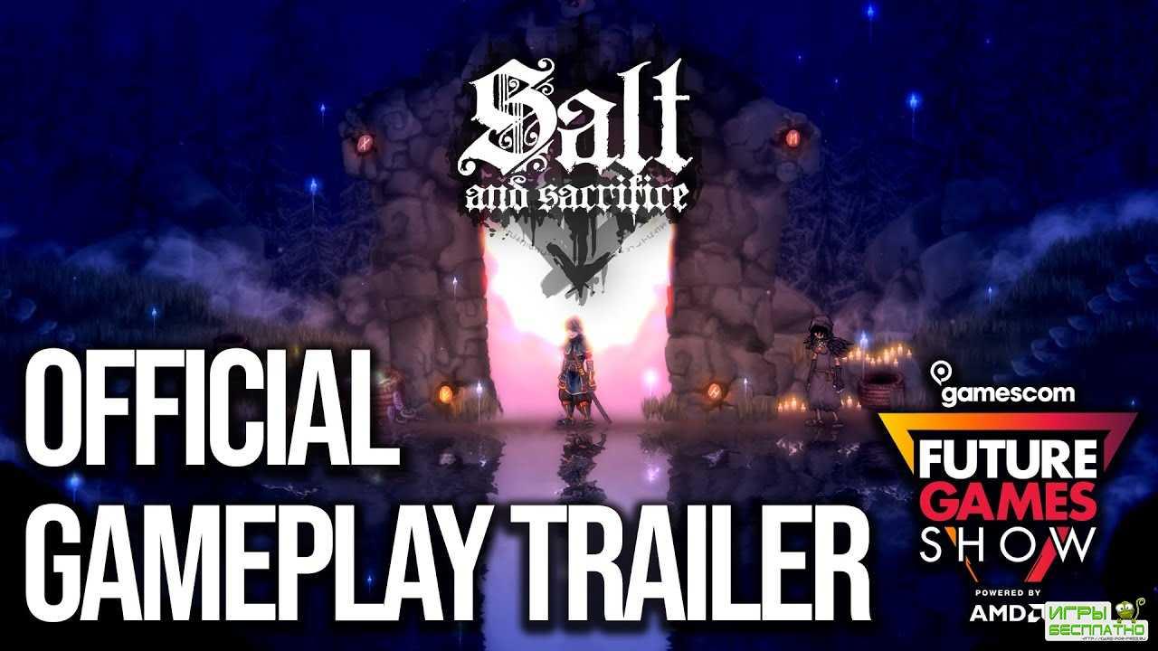 Демонстрация мультиплеера в игре Salt and Sacrifice