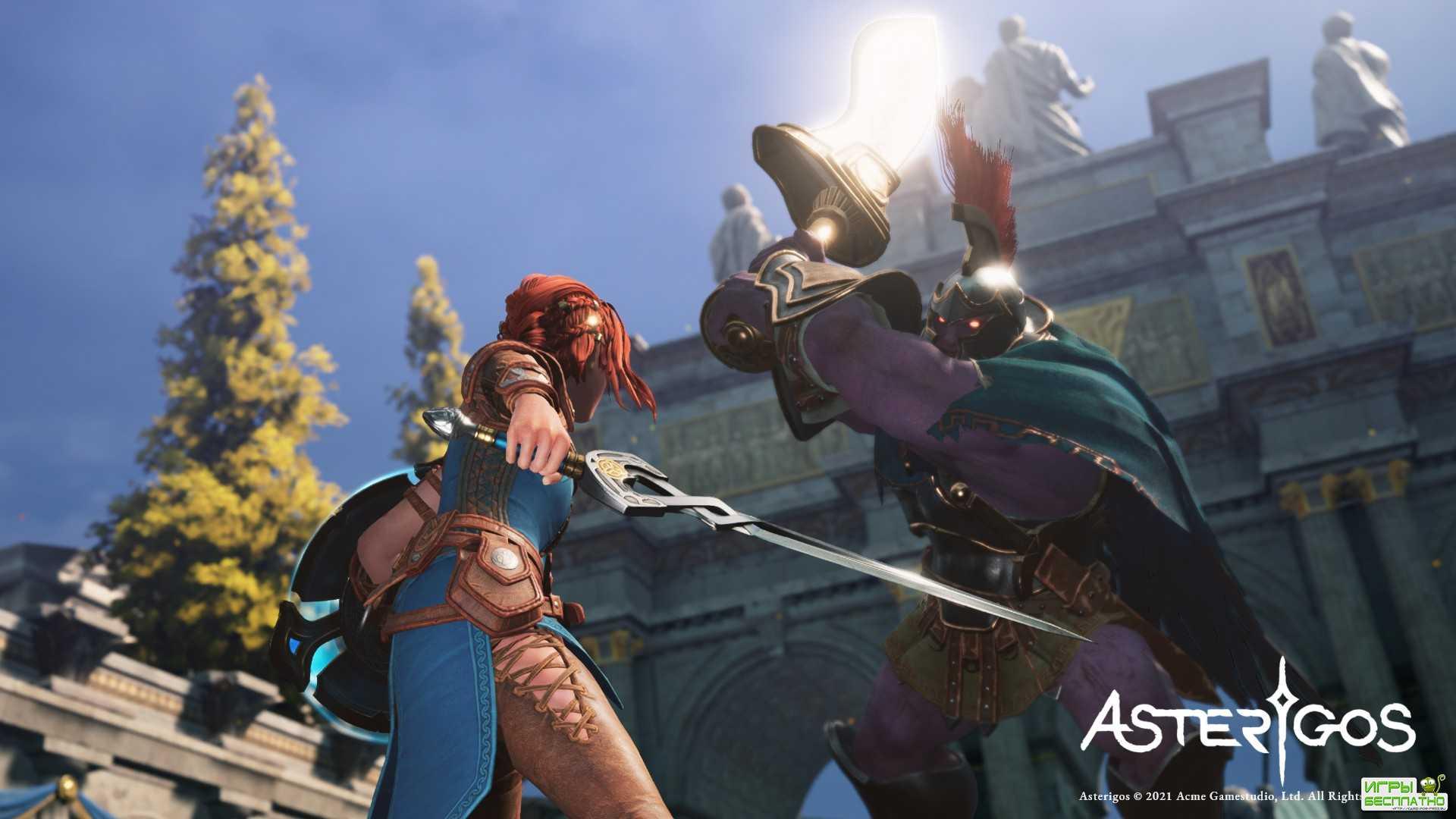 Студия Acme Gamestudio анонсировала ролевую игру с элементами экшена Asterigos