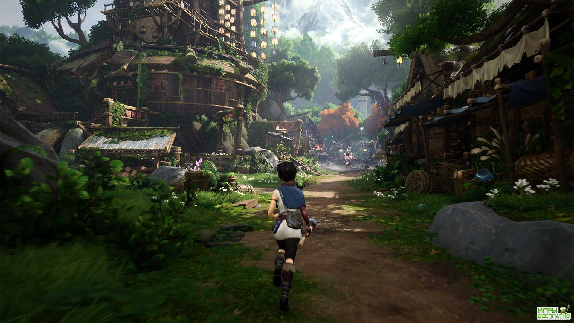 Релизный трейлер приключенческой игры Kena: Bridge of Spirits